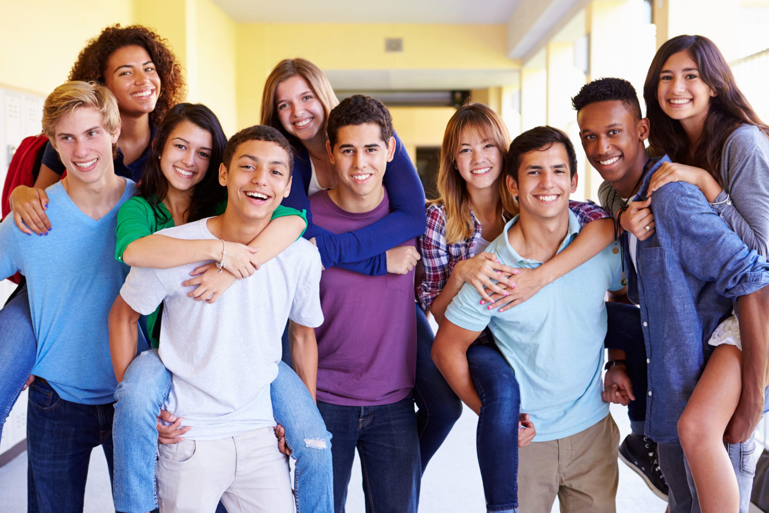 groupe de jeunes
